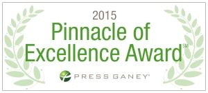 2015 pinalcle of excellence award logo